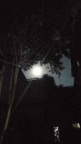 令和3年中秋の名月と木星